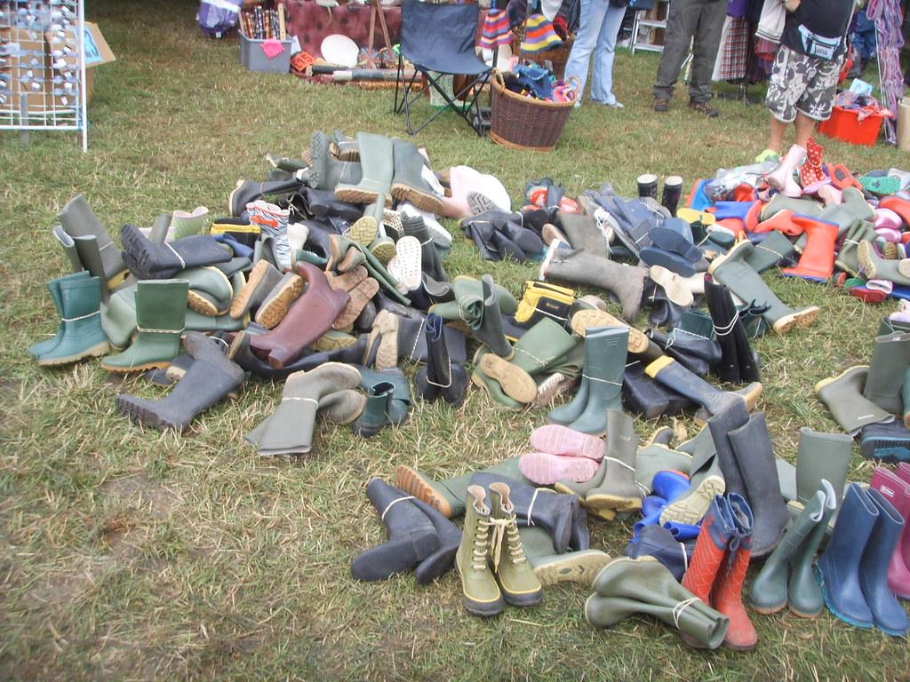 Wellies at glastonbury | Wellington Boots at Glastonbury