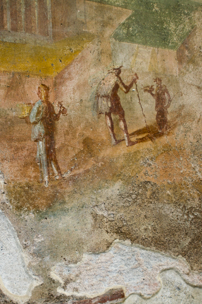 Pompeii Interior Mural Detail | Pompeii Interior Mural