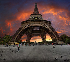 Eiffel tower, Paris, France.  Tourist, photographer, if you go, once to this great place, remember this picture | by Gaston Batistini Thks for 7 million views :) !