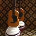 guitar cupcake