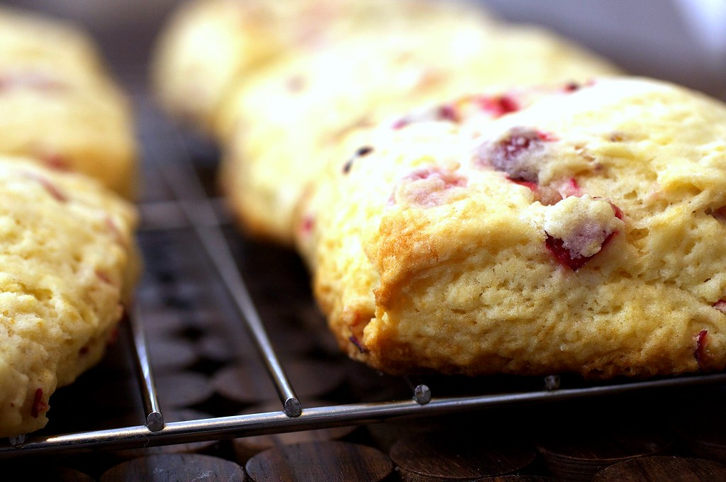 meyer lemon and cranberry scone | Meyer Lemon and Fresh ...