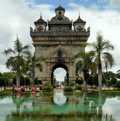 The Arc de Triomphe of Vientiane | by B℮n