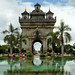 The Arc de Triomphe of Vientiane