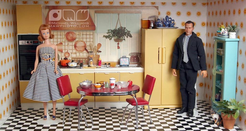 Barbie S Kitchen Set