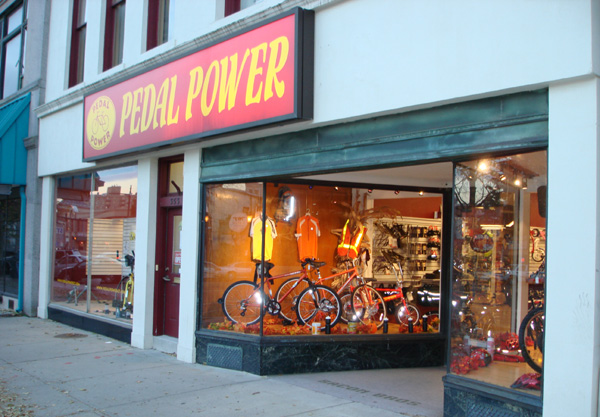 Pedal Power Middletown CT Store Front