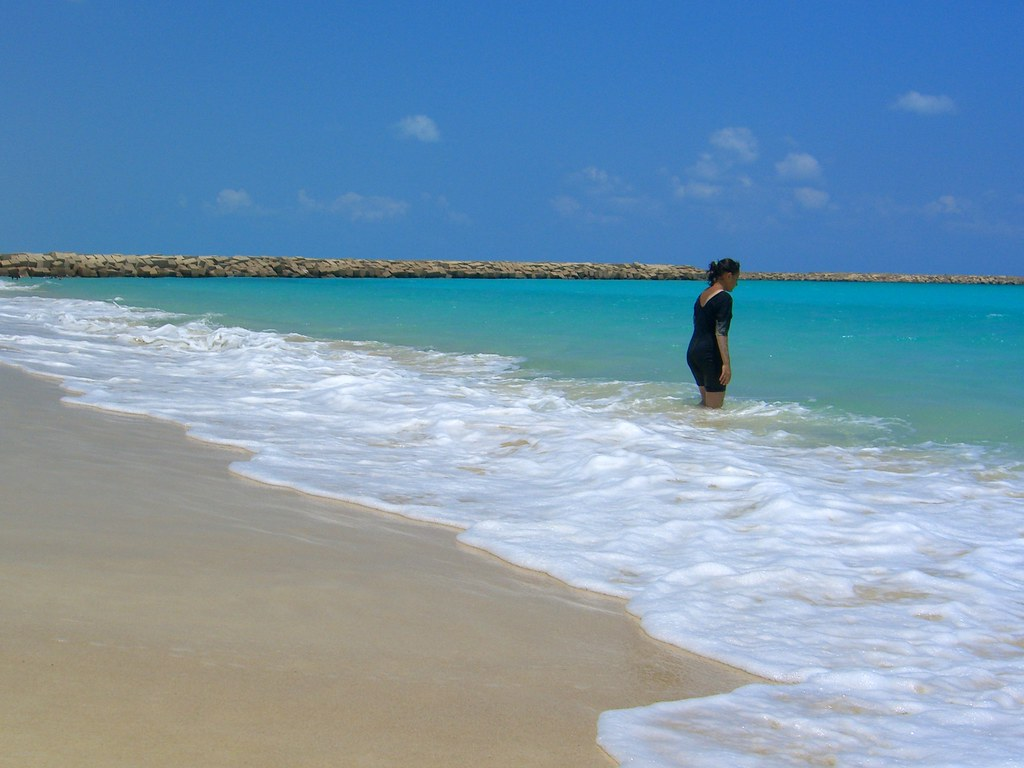Marina Beach Girl Girl at Marina Beach   by