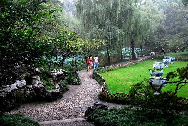 Ancient Chinese garden An intricate sweeping view Flickr