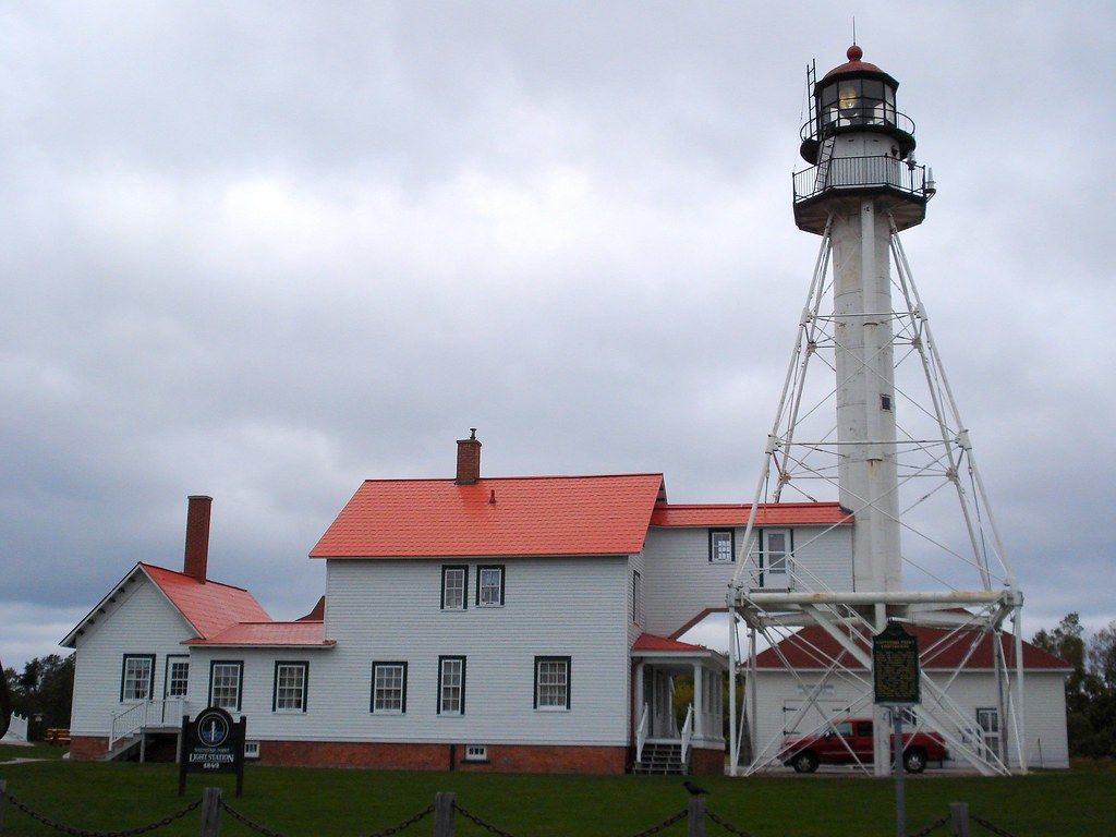 Whitefish point lighthouse whitefish point michigan for White fish point