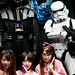 Lord Vader and Storm Trooper at Maid Cafe