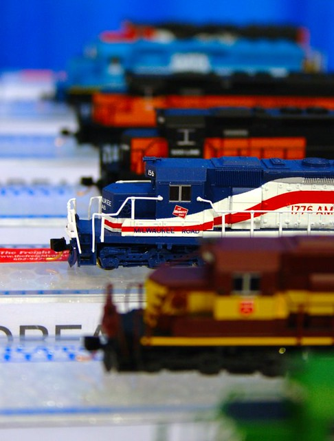 N scale locomotive kits