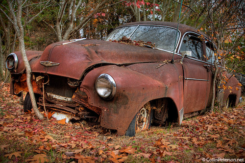 Abandoned car near fall creek falls rural tennessee deca for Musictown motor cars tennessee