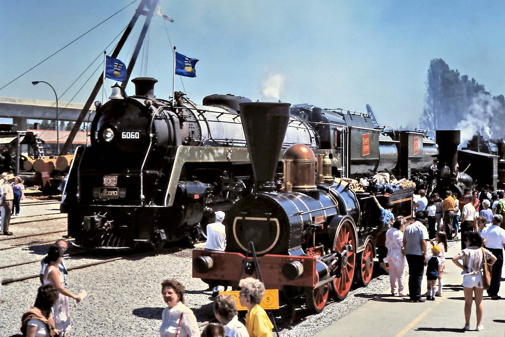 Gm 16725 Steam Locomotive Engines At Expo 86 Vancouver 19