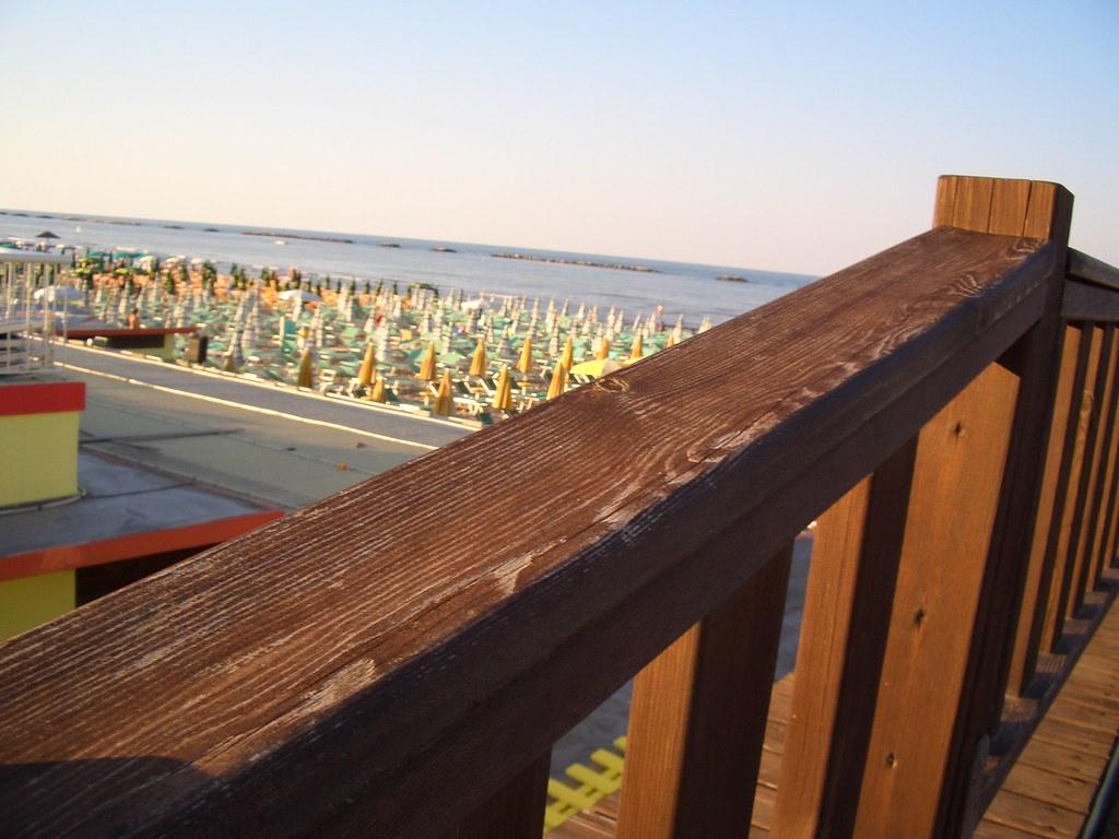 Mar adriatico cesenatico vista della terrazza del bagno au flickr - Bagno adriatico cesenatico ...
