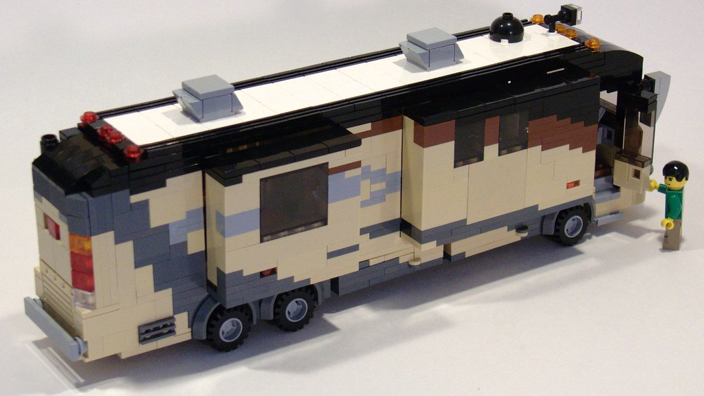 Climb Aboard This High End Luxury Motorhome Allows You