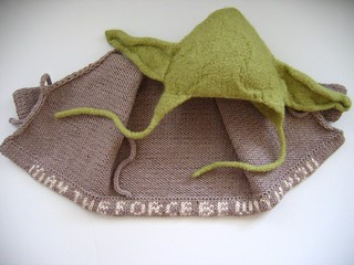 Yoda hat and jacket | by Anny Purls