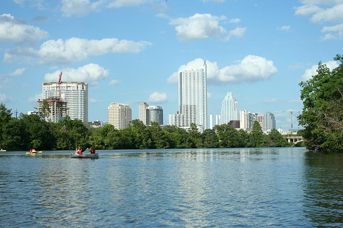 Austin, Texas from Lady Bird Lake | by Shane Pope
