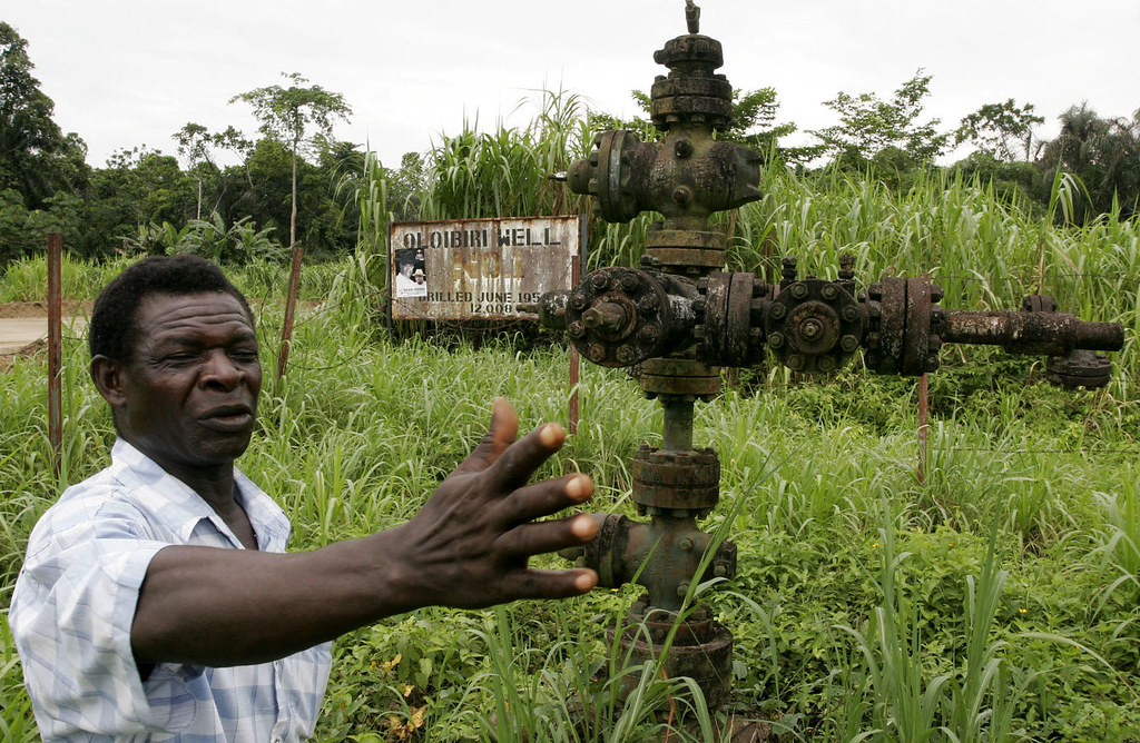 Image result for nigerian oil well
