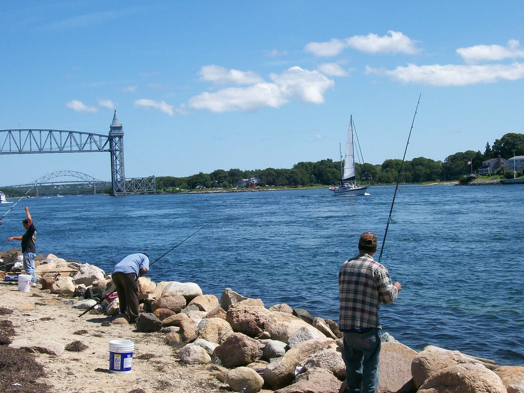 Fishing cape cod canal 2 bkaleta23 flickr for Cape cod canal fishing report