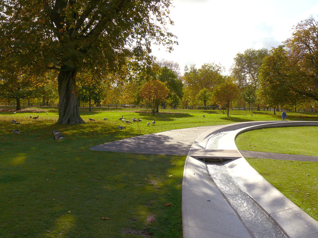 Diana Memorial Fountain London Landscape Architect Kath Flickr