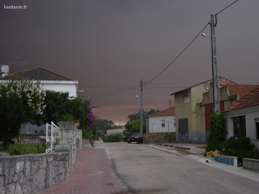 Le ciel était noir de fumée