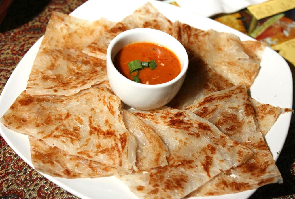 Roti with curry sauce arya persian restaurant for Arya persian cuisine