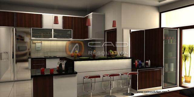 3d kitchen models 3d modern kitchen design quality 3d for Model kitchen design