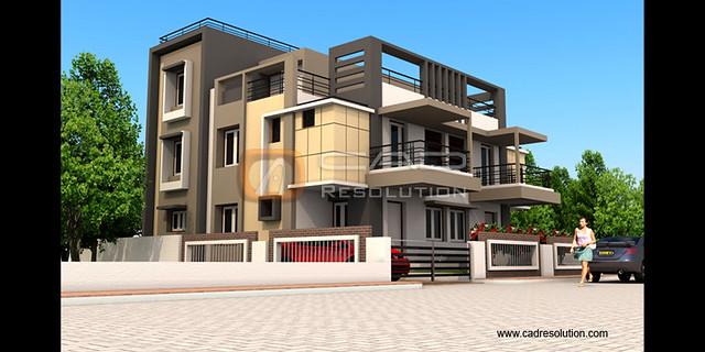 Exterior Building Design exterior building design - exterior building models | flickr