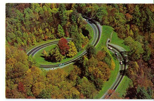 The Loop Over 1960 S The Newfound Gap Highway Us 441
