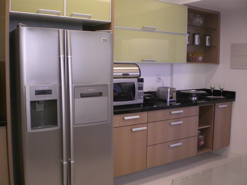 Bancada de Cozinha em Basalto Preto Absoluto  Arquiteta Mar…  Flickr # Bancada Cozinha Modular