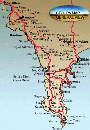 Χάρτης Μάνης - Map of Mani | Dimitris Psycharis | Flickr