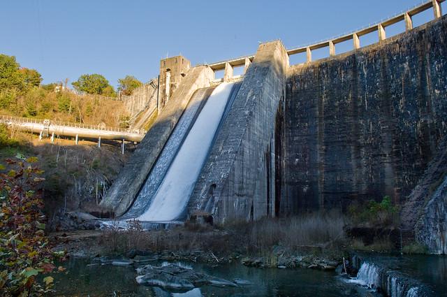 Lake Santeetlah Dam Santeetlah Dam