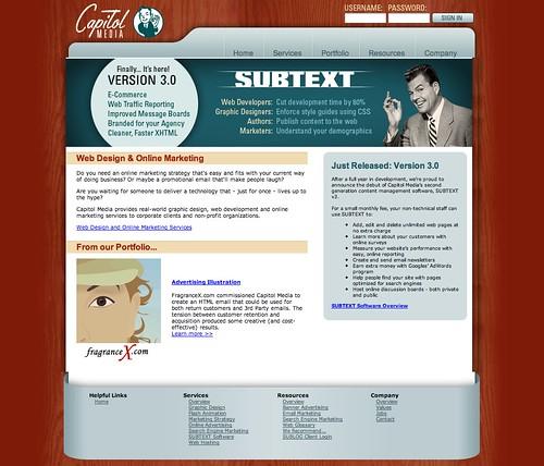 Megamad Website Design Marketing: Capitol Media Seattle Website Design And Online Mar