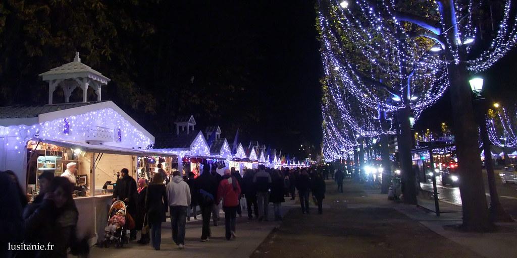 Illumination de Noël des Champs-Elysées