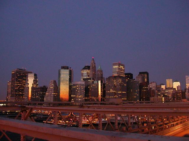Vue du pont de brooklyn 7 explore titem 39 s photos on flic flickr - Toile pont de brooklyn ...