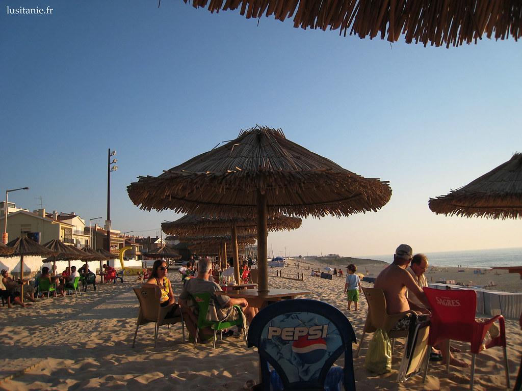 Terrasse à la plage