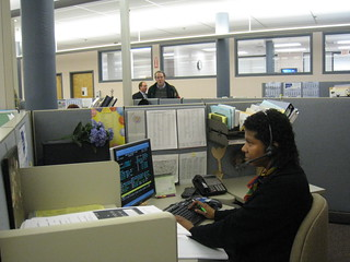 Workers at CT Labor Department Call Center | by WNPR - Connecticut Public Radio