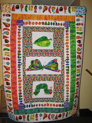 The Very Hungry Caterpillar quilt This quilt pattern appea? Flickr
