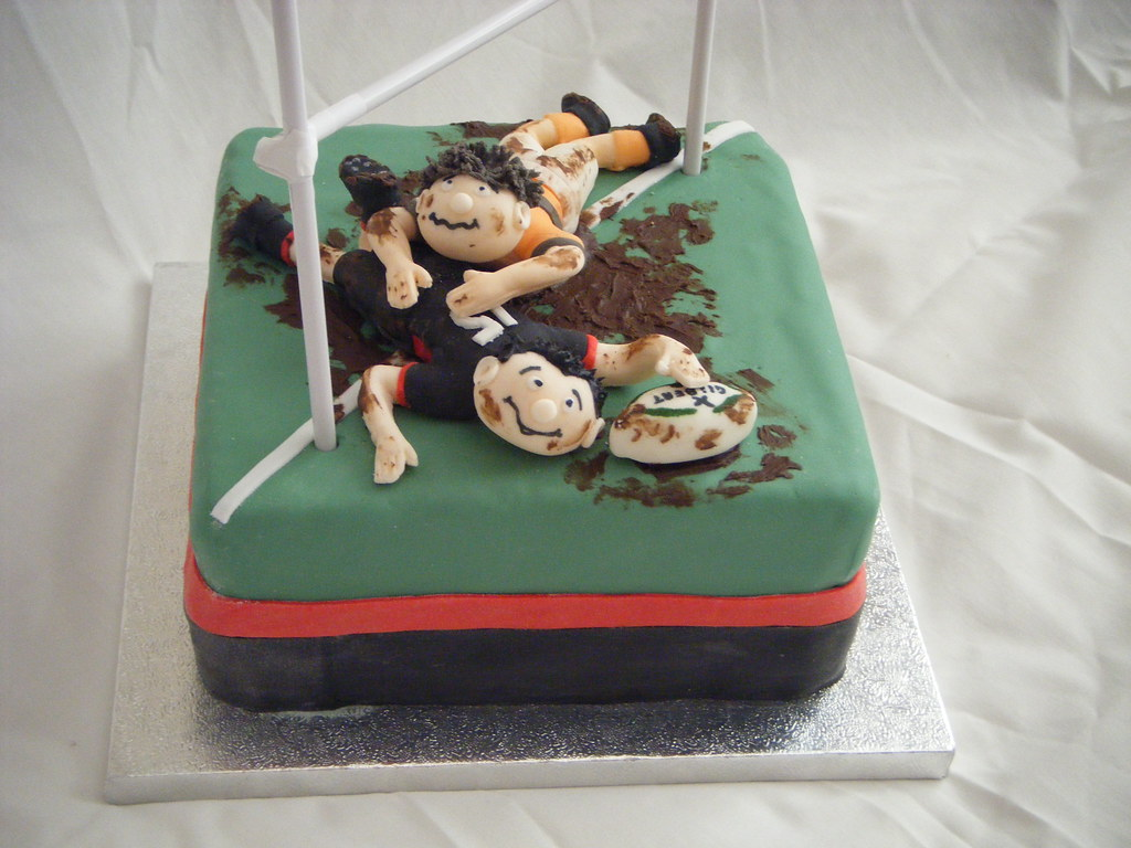 Rugby Cake A Commission For A Keen Rugby Player S 13th