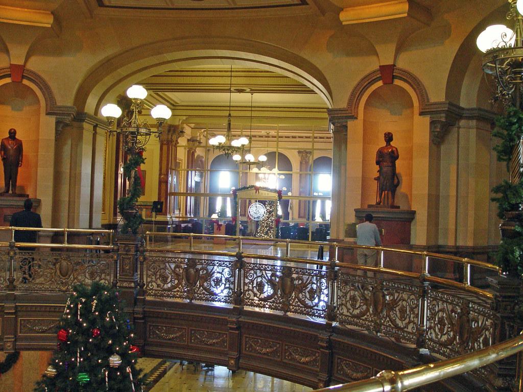 Springfield Rotunda Illinois State Capitol Building