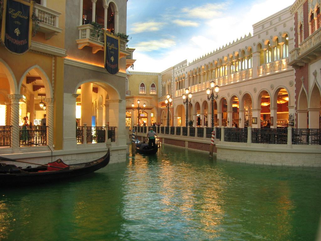 Grand Canal Shoppes The Venetian Resort Hotel Casino Las