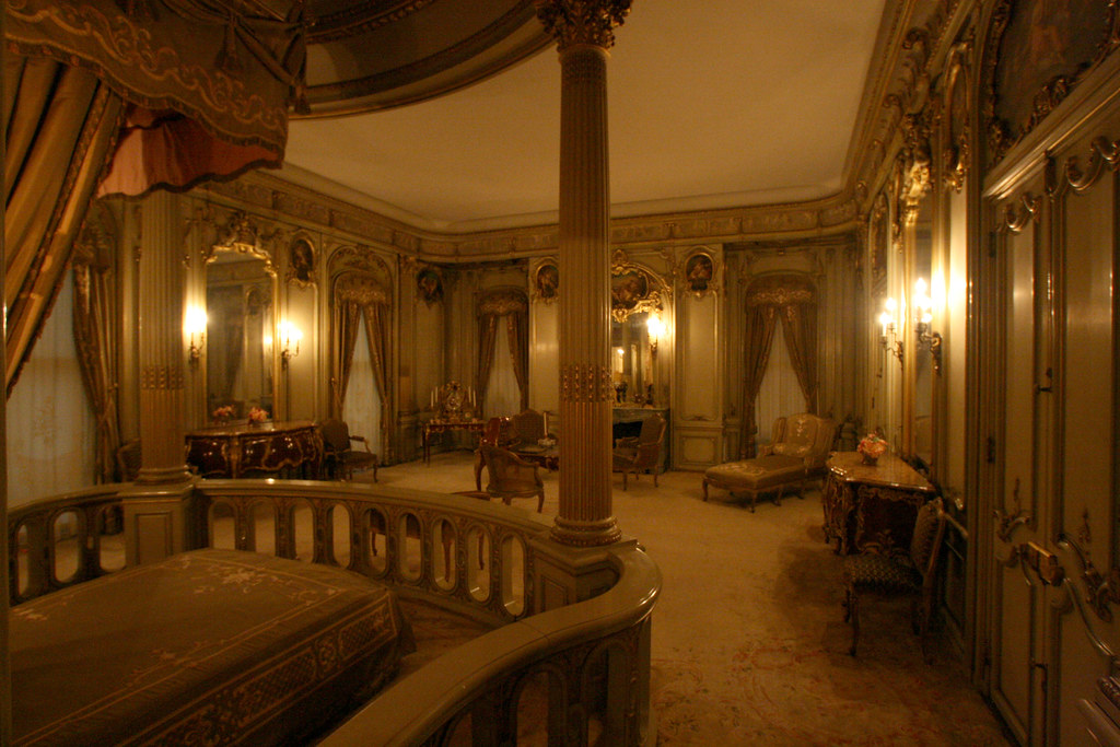 vanderbilt mansion interior located in hyde park ny it i