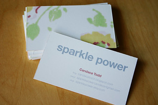 business cards | by sparklecandace
