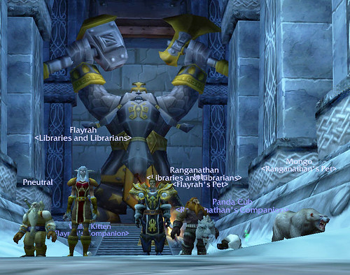 Libraries and Librarians WarCraft Guild Group Photo | by libraryman