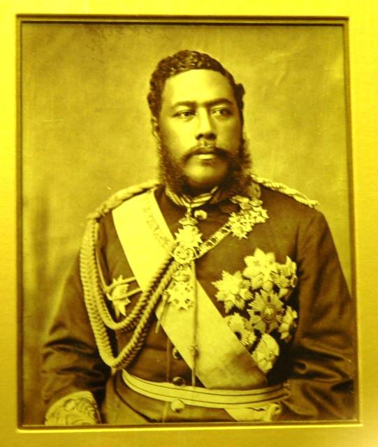 Portrait of Kalakaua |...