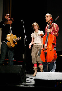 Pop!Tech 2008 - Live Performance by Rufus Cappadocia, Imogen Heap, and Amos Lee | by Pop!Tech