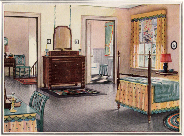 1925 armstrong linoleum bedroom these 1920s ads by for American bedrooms