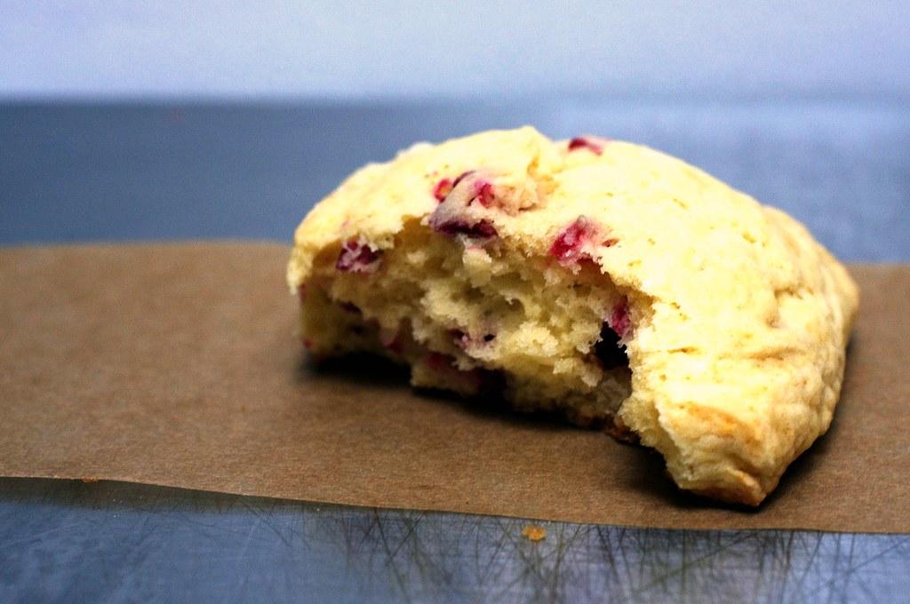 perfect cream scone | Meyer Lemon and Fresh Cranberry ...
