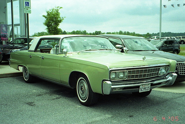 1966 Imperial Crown 4 Door Hardtop Chrysler Product