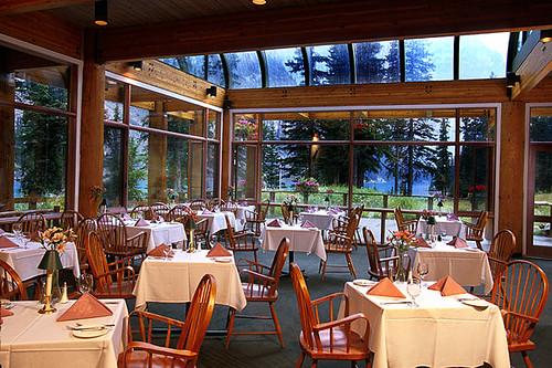 Moraine Lake Lodge Dining Room