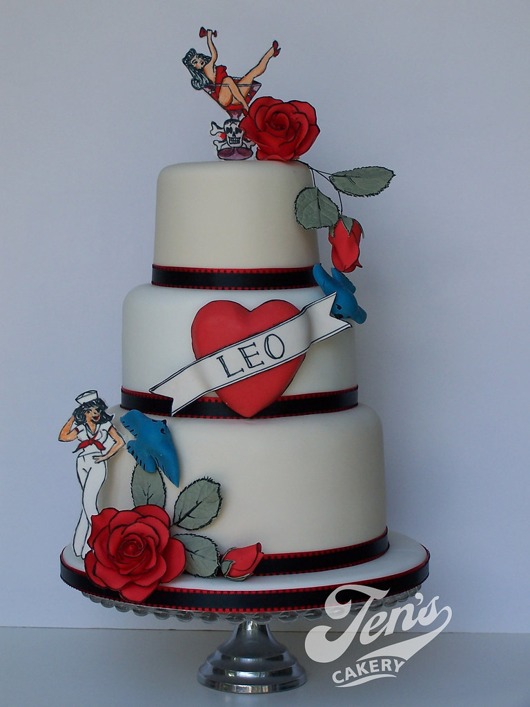 Sailor Jerry Tattoo Cake This Is For My Husband S